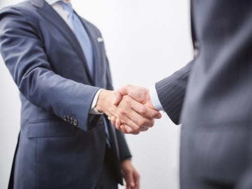 ビジネス 握手image
